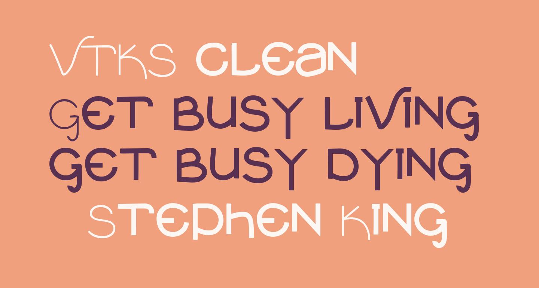 VTKS clean