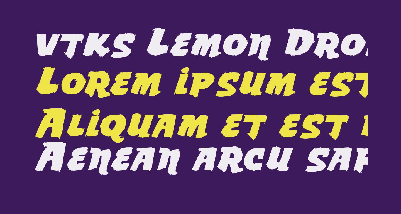 vtks Lemon Drop