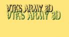 vtks army 3d