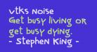 vtks noise