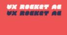 VX Rocket Academy Italic