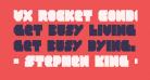 VX Rocket Condensed