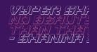 Vyper Shadow Italic