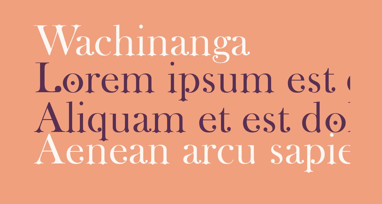 Wachinanga