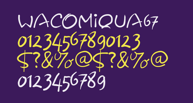 Wacomiqua67
