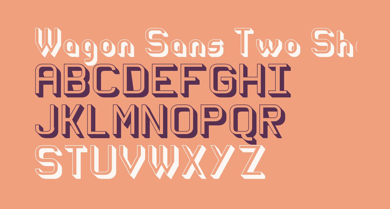 Wagon Sans Two Shaded