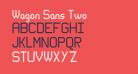 Wagon Sans Two