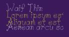 Waif Thin