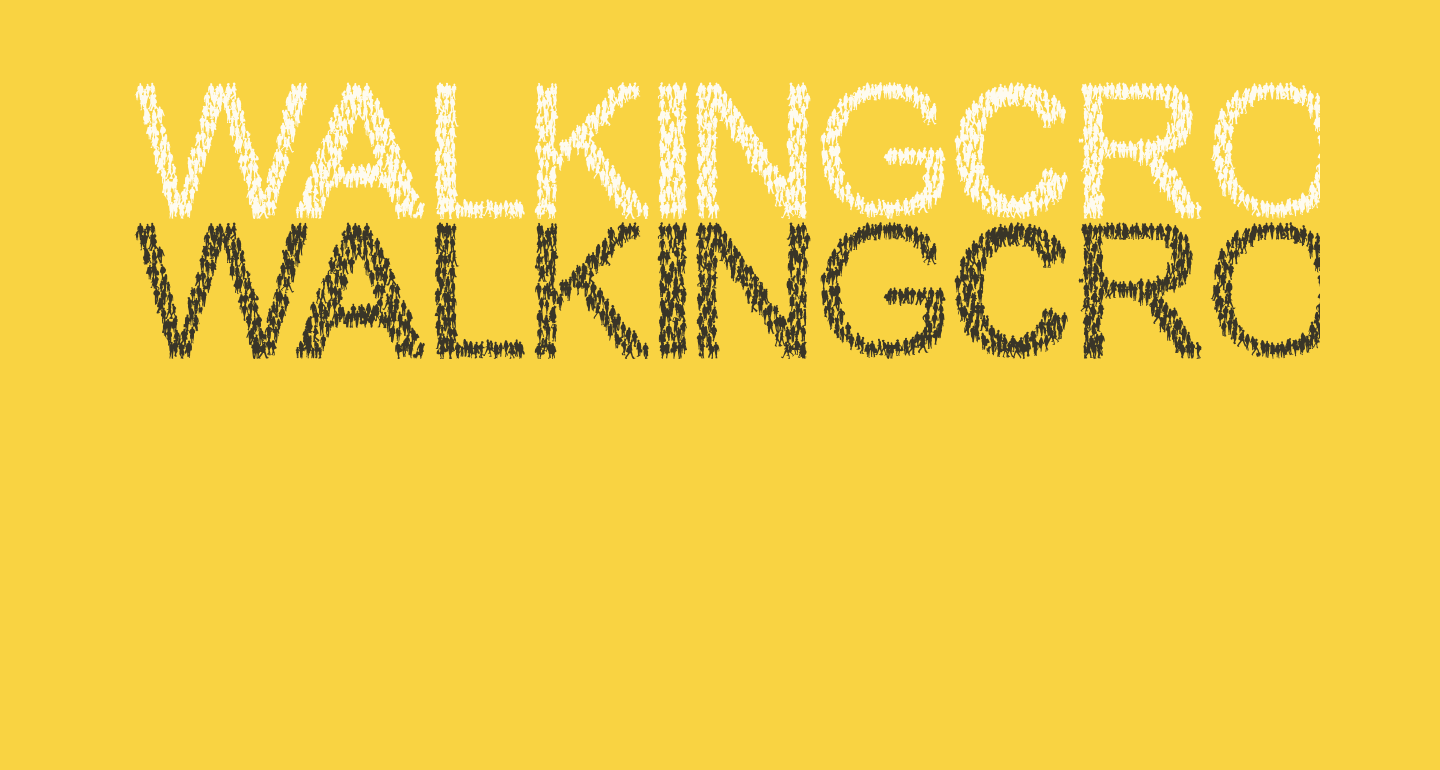 WalkingCrowd
