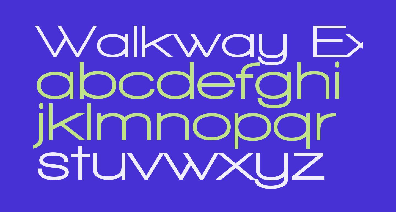 Walkway Expand UltraBold