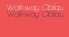 Walkway Oblique SemiBold