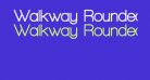 Walkway Rounded