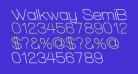 Walkway SemiBold RevOblique