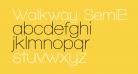 Walkway SemiBold