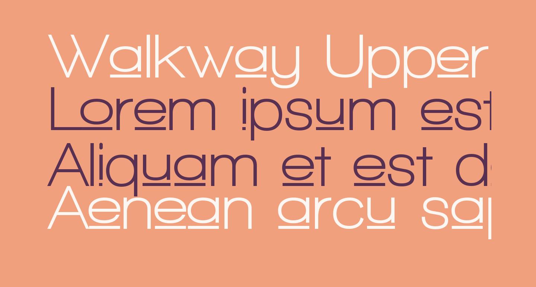 Walkway Upper Bold