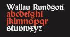 Wallau Rundgotisch OsF Heavy