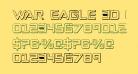 War Eagle 3D Condensed