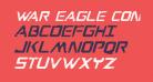 War Eagle Condensed Italic