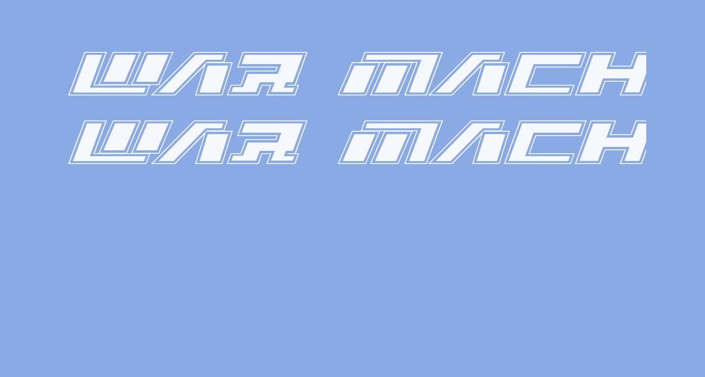 War Machine Academy