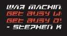War Machine Condensed