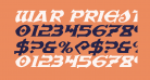 War Priest Expanded Italic