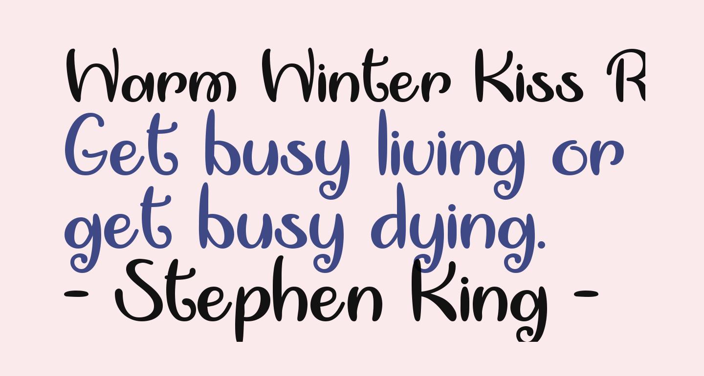 Warm Winter Kiss Regular