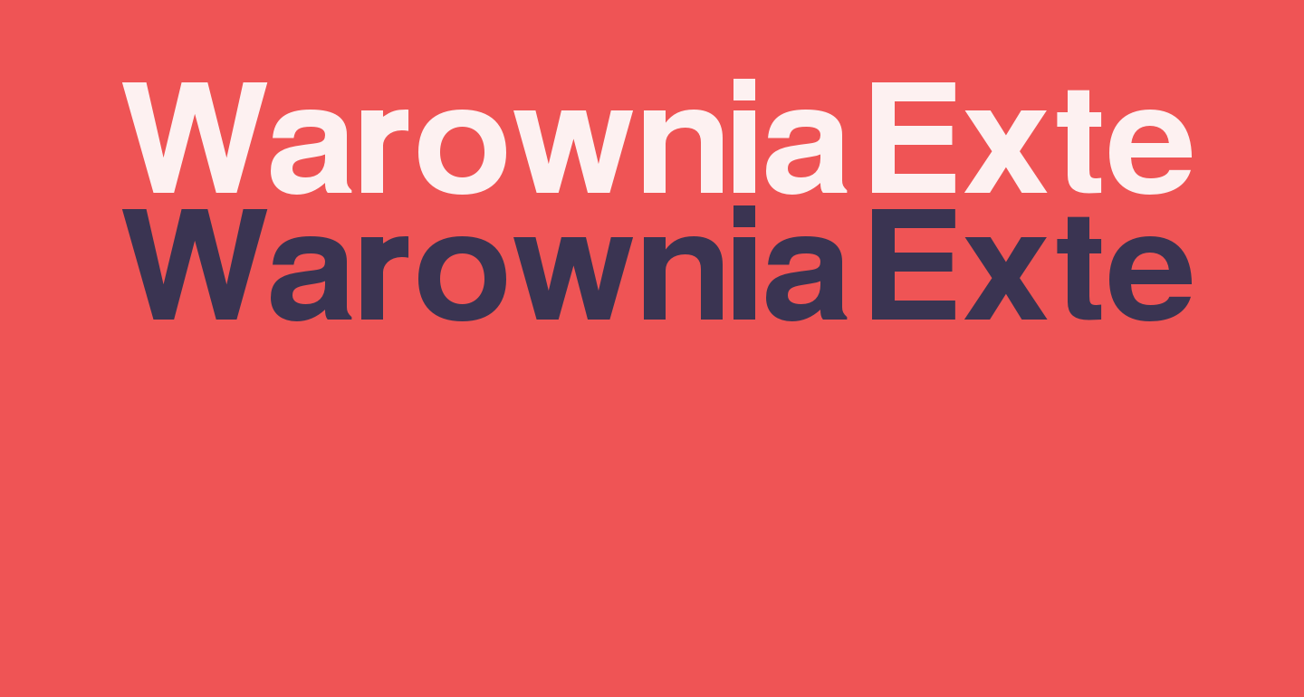 Warownia Extended