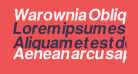Warownia Oblique