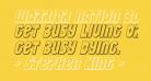 Warrior Nation 3D Italic