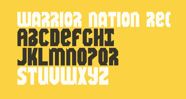 Warrior Nation Regular