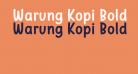 Warung Kopi Bold