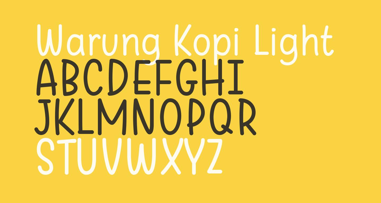 Warung Kopi Light