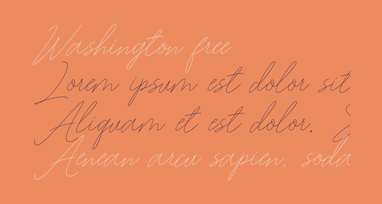Washington free