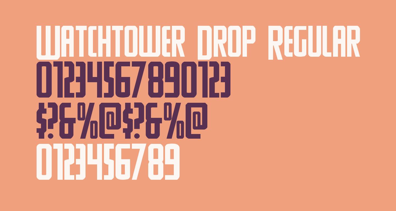 Watchtower Drop Regular