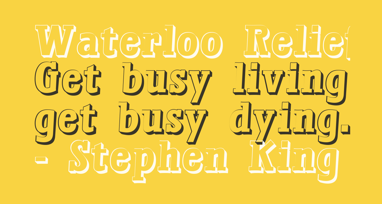 Waterloo Relief