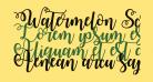 Watermelon Script Demo