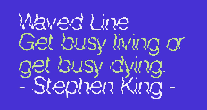 Waved Line