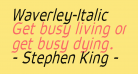 Waverley-Italic