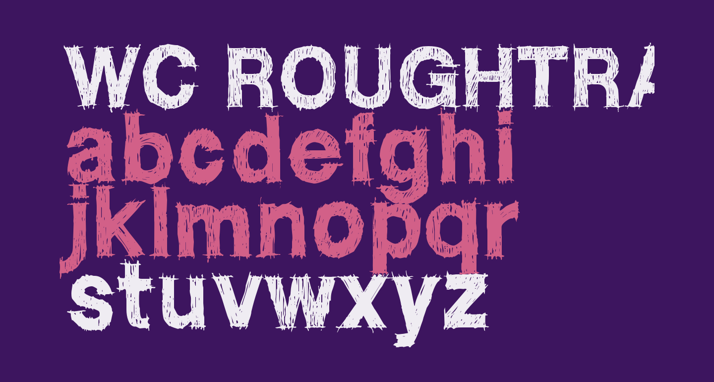 WC ROUGHTRAD BETA    Bold