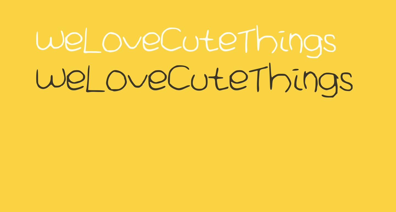 WeLoveCuteThings
