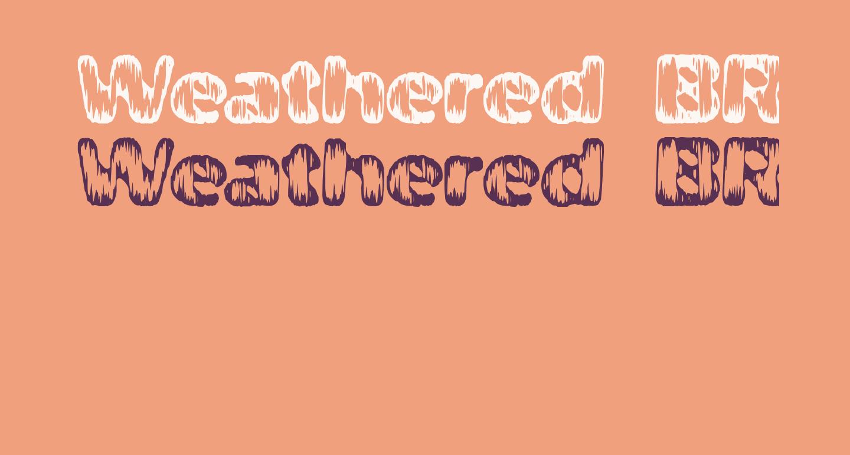 Weathered BRK