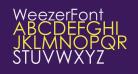 WeezerFont