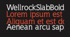 WellrockSlabBold
