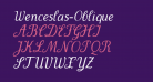 Wenceslas-Oblique