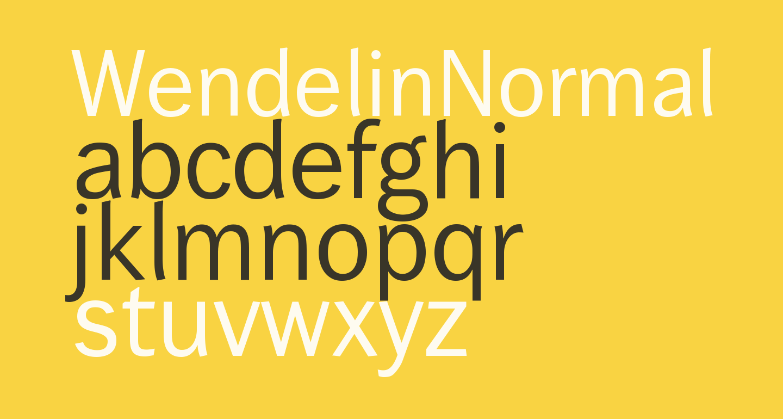 WendelinNormal