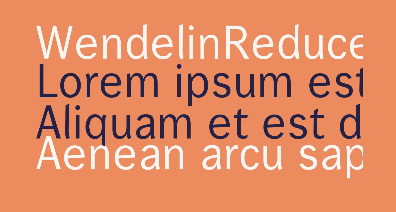 WendelinReduced-Normal