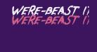 Were-Beast Italic