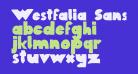 Westfalia SansRegular