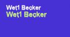 Wet1 Becker