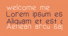 welcome me